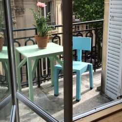 Pleasing Balcony Aluminium Table Pabps2019 Chair Design Images Pabps2019Com