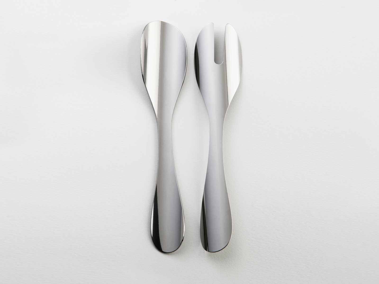 High Quality Homeu003eCutleryu003eSalad Set Tube Cutlery Glossy