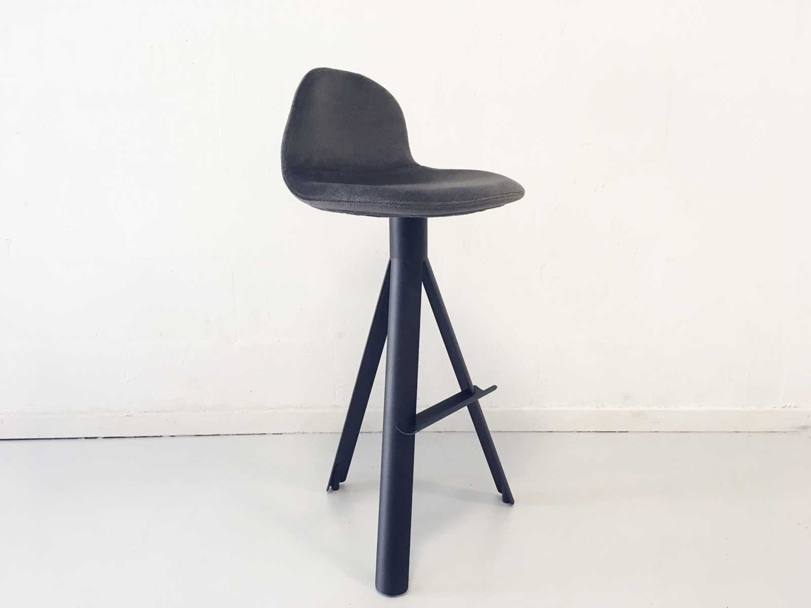 Magnificent Tube Bar Chair Upholstered Gmtry Best Dining Table And Chair Ideas Images Gmtryco