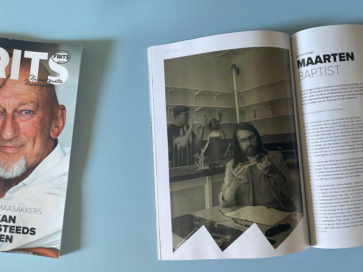 FRITS magazin Eindhoven Maarten Baptist en Glasblazer